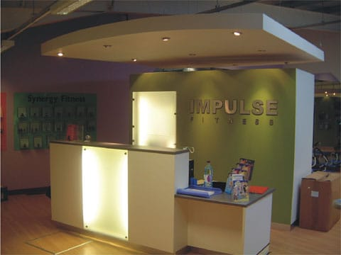 Custom Modern Reception Desks Created By Gordon Signs